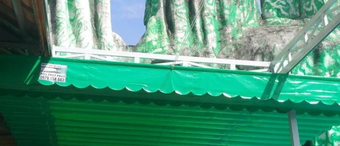 Báo giá mái xếp, bạt xếp bạt kéo lùa lượn sóng di động phát đạt tại hội an quảng nam
