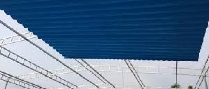 Báo giá mái xếp, bạt xếp bạt kéo lùa lượn sóng di động phát đạt tại hà nội