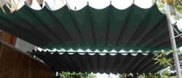 Mái bạt xếp di dộng
