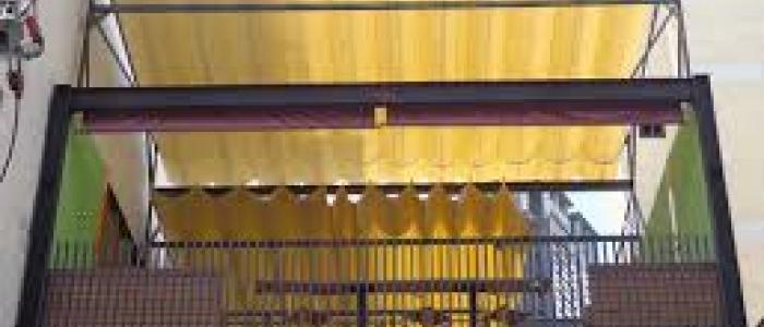 Báo giá mái xếp, bạt xếp bạt kéo lùa lượn sóng di động phát đạt tại tp hồ chí minh
