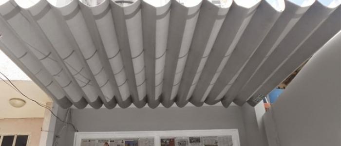 Báo giá mái xếp, bạt xếp bạt kéo lùa lượn sóng di động phát đạt tại tp sơn la