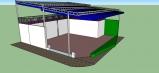 Báo giá mái xếp, bạt xếp bạt kéo lùa lượn sóng di động phát đạt tại TP Bạc Liêu