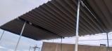 Báo giá mái xếp, bạt xếp bạt kéo lùa lượn sóng di động phát đạt tại phú quốc