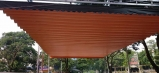 Báo giá mái xếp, bạt xếp bạt kéo lùa lượn sóng di động phát đạt tại lạng sơn