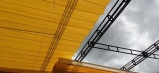 Mái che xếp di động, mái che kéo, mái che lượn sóng giá rẻ