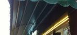 Bạt quay mái hiên che mưa nắng đẹp giá rẻ