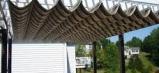 Báo giá mái xếp, bạt xếp bạt kéo lùa lượn sóng di động phát đạt tại long thành