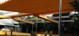Báo giá mái xếp, bạt xếp bạt kéo lùa lượn sóng di động phát đạt tại tp đà nẵng