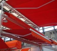 Báo giá mái xếp, bạt xếp bạt kéo lùa lượn sóng di động phát đạt tại tp phủ lý hà nam