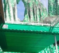 Báo giá mái xếp, bạt xếp bạt kéo lùa lượn sóng di động phát đạt tại quận 3