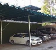 Mái xếp, mái che, mái bạt kéo lùa di động nhà che xe